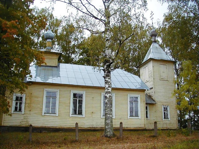 Латвия, Ругайский край, Ругайи. Церковь Николая Чудотворца, фотография. фасады