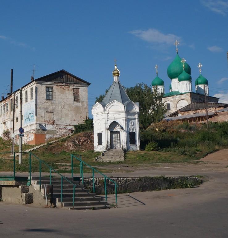 Спасо-Преображенский монастырь. Часовня Спаса Нерукотворного Образа, Арзамас