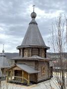 Мурманск. Троицкий Феодоритов Кольский мужской монастырь. Церковь иконы Божией Матери