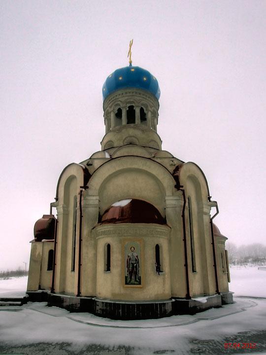 Московская область, Можайский городской округ, Ельня. Церковь Покрова Пресвятой Богородицы, фотография. фасады