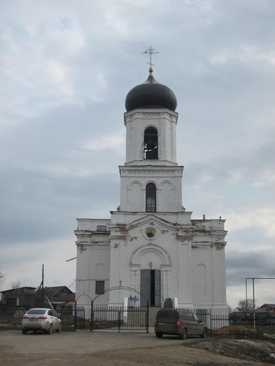 Нижегородская область, Сергачский район, Сергач. Церковь Илии Пророка в Ключёве, фотография.