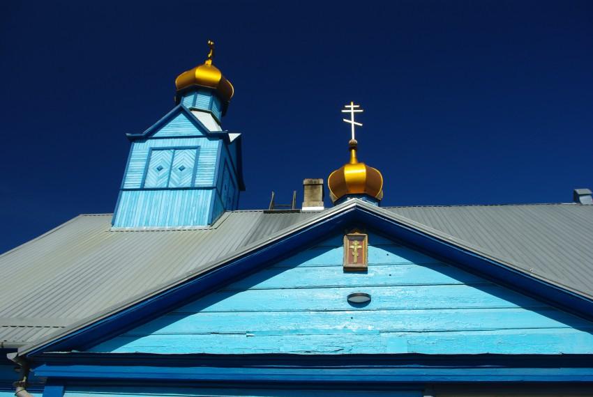 Латвия, Екабпилс, город, Екабпилс. Моленная Покрова Пресвятой Богородицы, фотография. архитектурные детали