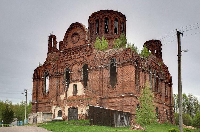 Ильинский Троицкий монастырь. Собор Троицы Живоначальной, Ромашкино