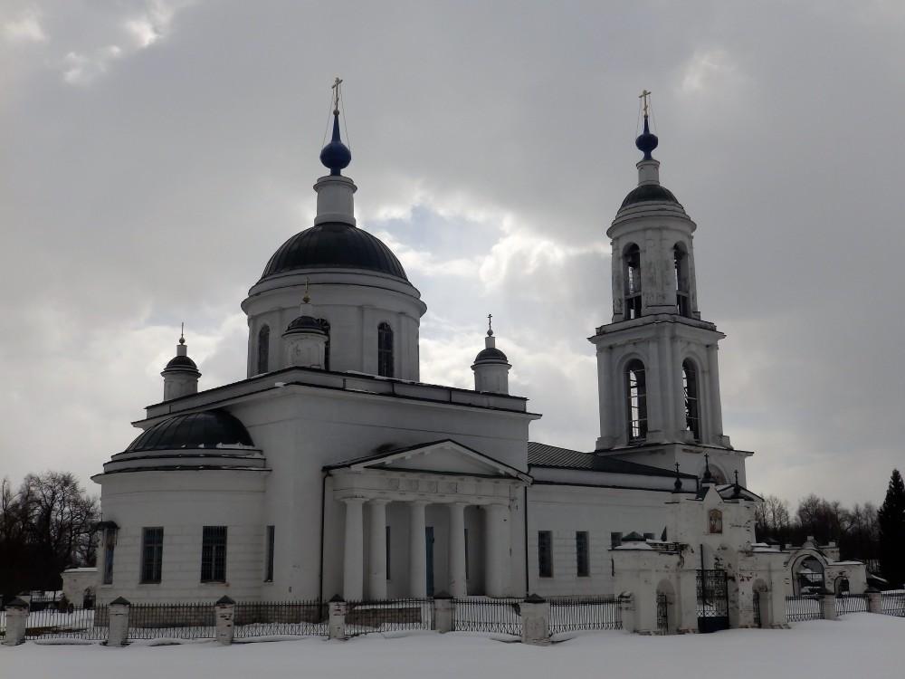 Церковь Вознесения Господня, Борщево
