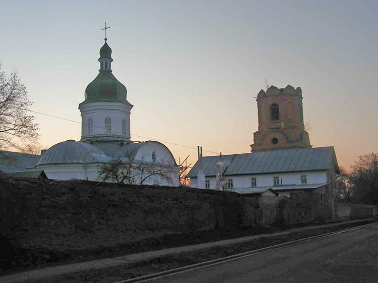 Украина, Черниговская область, Нежинский район, Нежин. Введенский женский монастырь, фотография. фасады