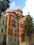 Новоафонский монастырь Симона Кананита. Церковь Вознесения Господня - Новый Афон - Абхазия - Прочие страны