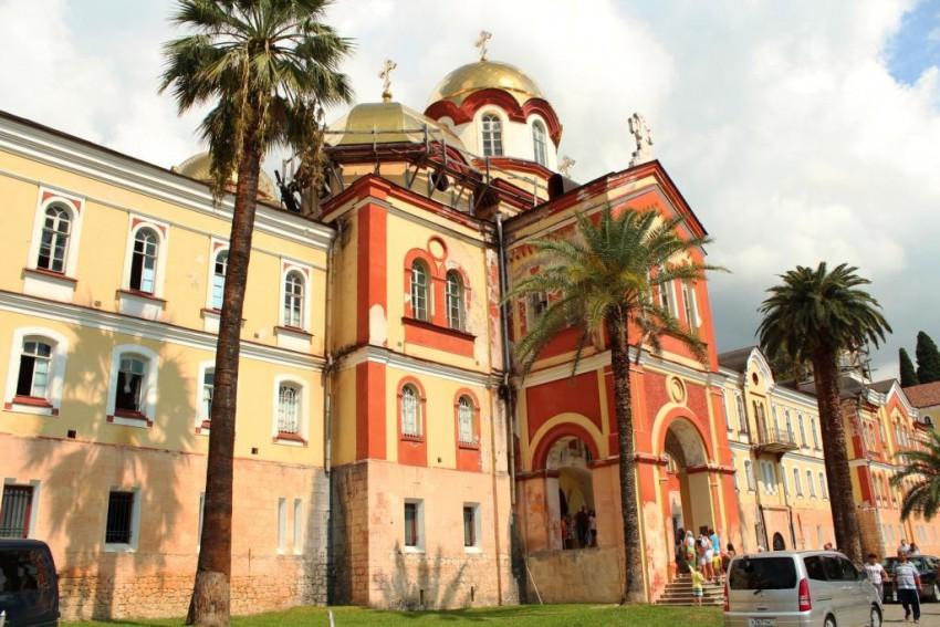 Новоафонский монастырь Симона Кананита. Церковь Вознесения Господня, Новый Афон