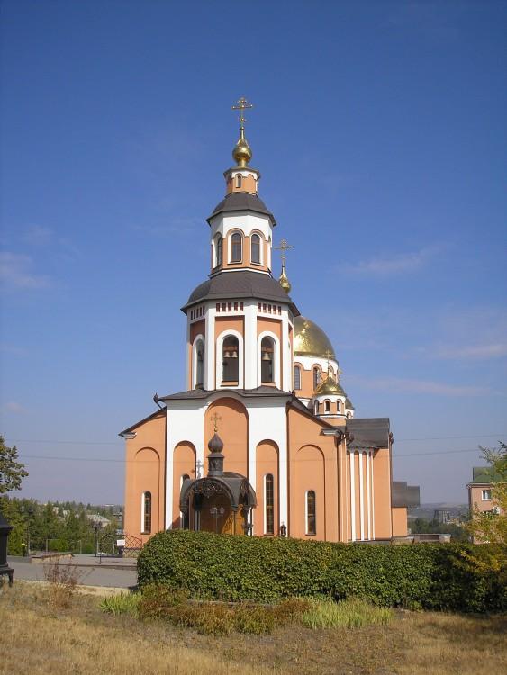 Саратовская область, Саратов, город, Саратов. Алексиевский женский монастырь, фотография. фасады