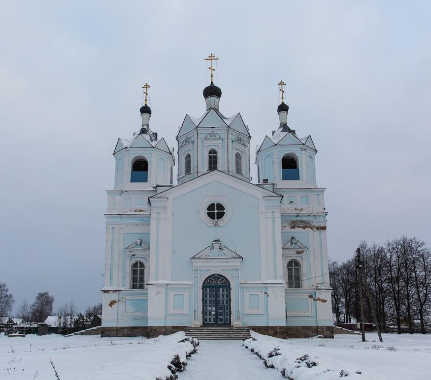 Смоленская область, Демидовский район, Демидов. Церковь Успения Пресвятой Богородицы, фотография.