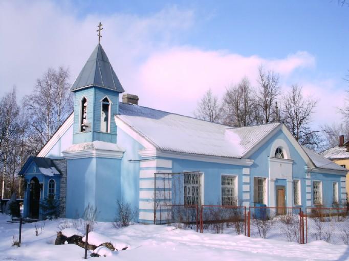 Церковь Тихвинской иконы Божией Матери, Назия, посёлок