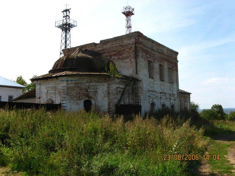 Церковь Спаса Преображения, Мякса