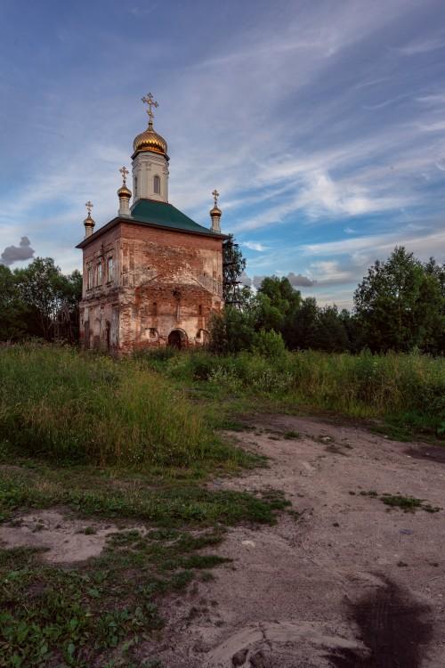 Вологодская область, Череповецкий район, Козохта. Церковь Богоявления Господня, фотография. художественные фотографии,