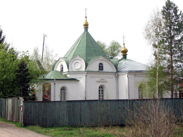 Тверская область, Конаковский район, Козлово. Церковь Иоанна Предтечи, фотография. фасады