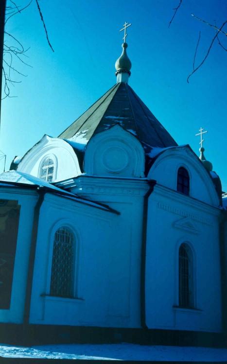 Тверская область, Конаковский район, Козлово. Церковь Иоанна Предтечи, фотография. архитектурные детали, 1994