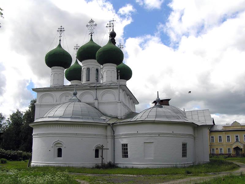 Горний Успенский женский монастырь.  Церковь Успения Пресвятой Богородицы, Вологда