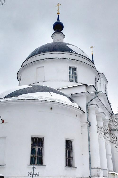 Московская область, Богородский городской округ, Ямкино. Церковь Рождества Христова, фотография. архитектурные детали