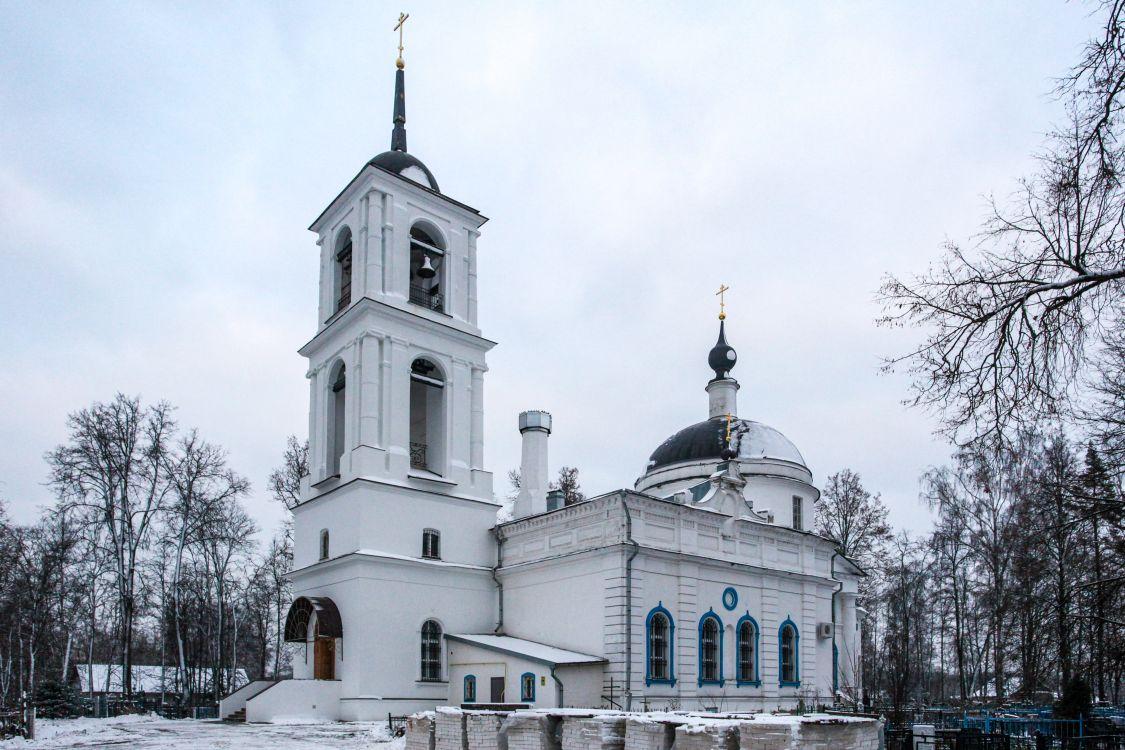 Московская область, Богородский городской округ, Ямкино. Церковь Рождества Христова, фотография. фасады