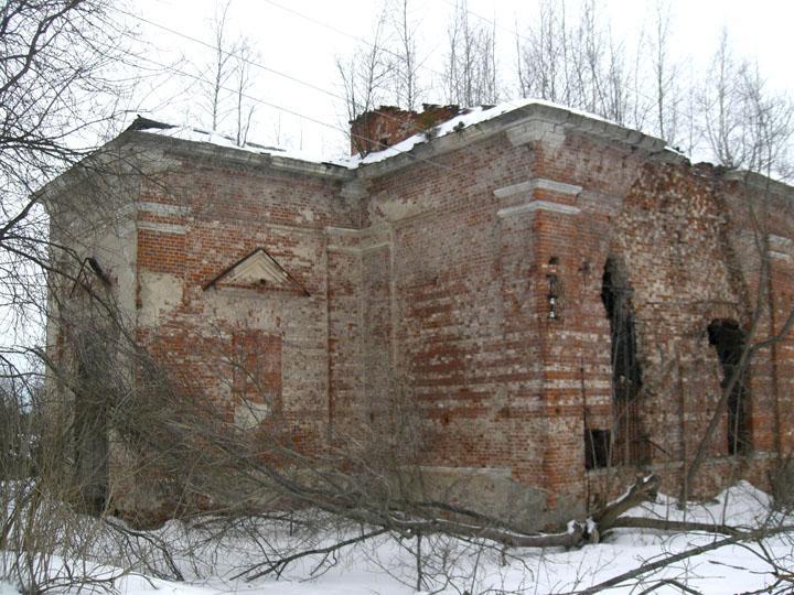 Церковь Троицы Живоначальной, Троицкое