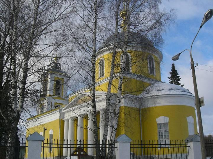 Церковь Спаса Преображения, Селинское