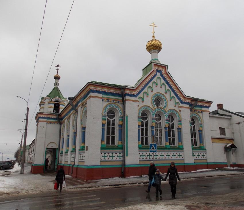 Церковь Николая Чудотворца на подворье Николо-Корельского монастыря, Архангельск