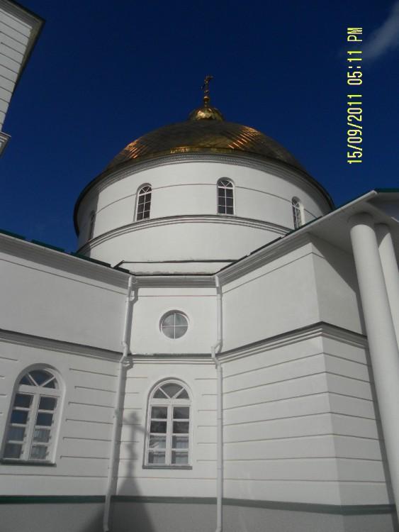 Симанский Спасо-Казанский монастырь. Церковь Спаса Нерукотворного Образа, Остров