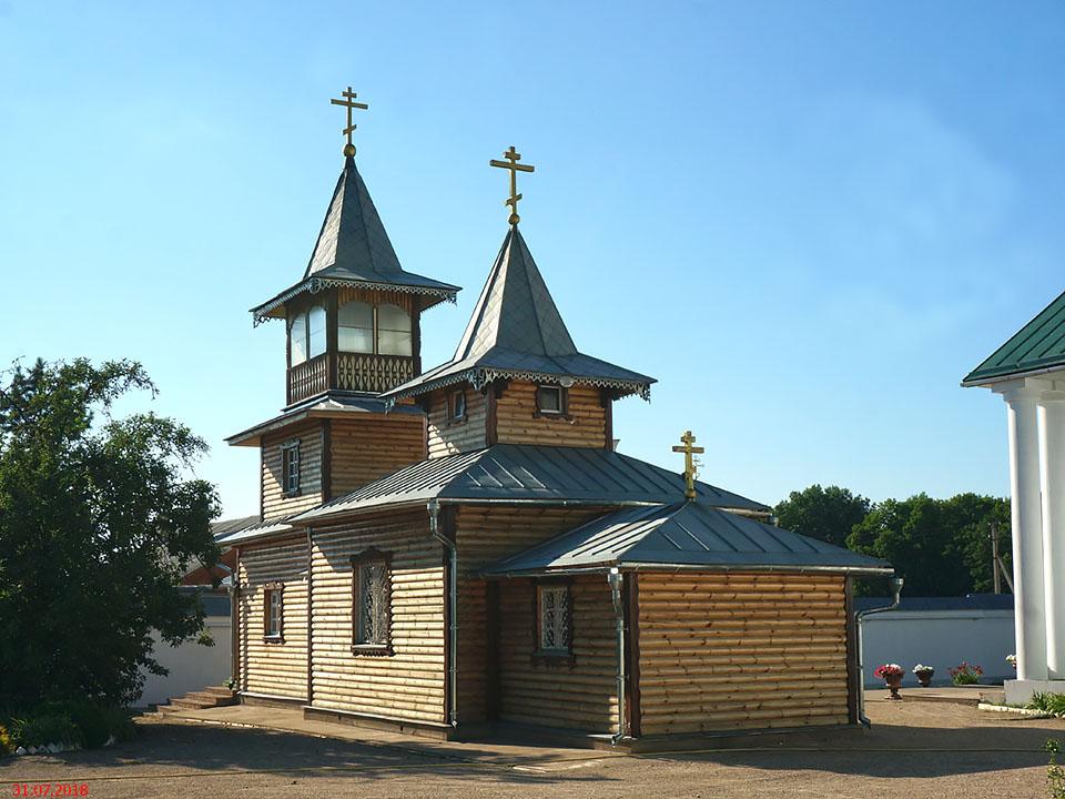 Симанский Спасо-Казанский монастырь. Церковь Иоанна Кронштадтского, Остров