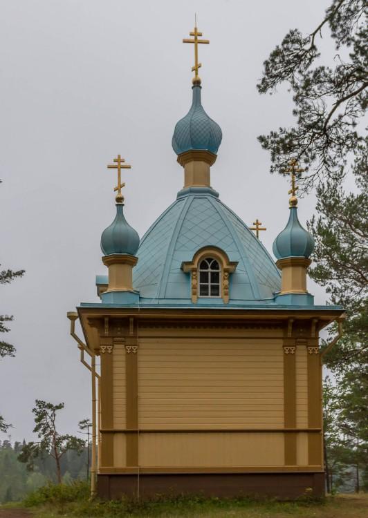 Спасо-Преображенский Валаамский монастырь. Гефсиманский скит. Часовня Вознесения Господня, Валаамские острова