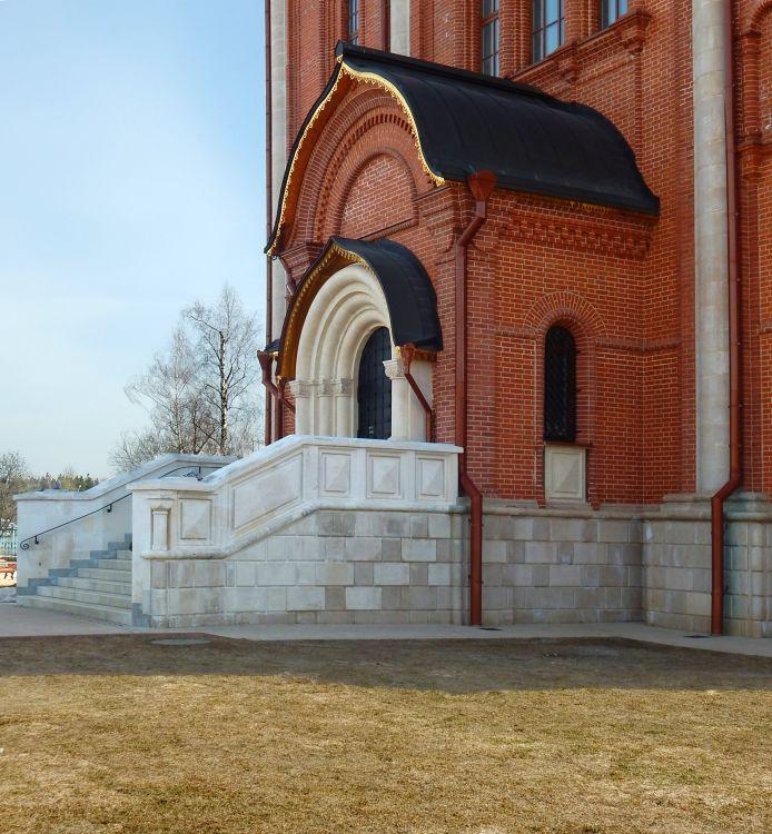 Московская область, Наро-Фоминский городской округ, Селятино. Церковь Серафима Саровского, фотография. архитектурные детали