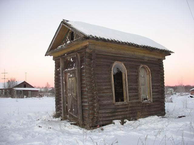 Вологодская область, Кадуйский район, Смешково. Часовня Филиппа Ирапского, фотография. фасады