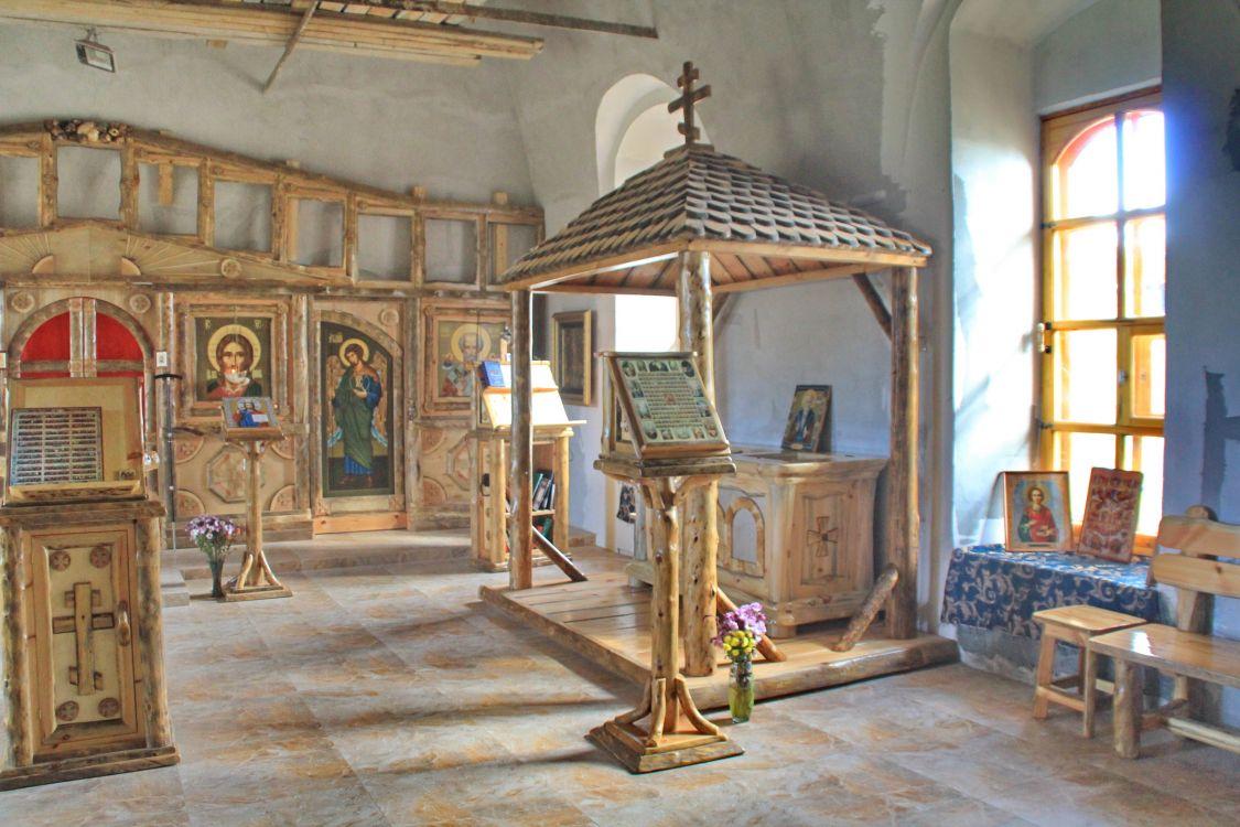 Красноборская Троицкая Филиппа Ирапского пустынь. Церковь Казанской иконы Божией Матери, Зелёный Берег