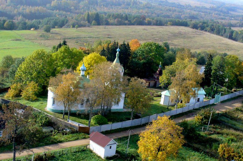Троицкий скит Успенского Тихвинского монастыря, Сенно