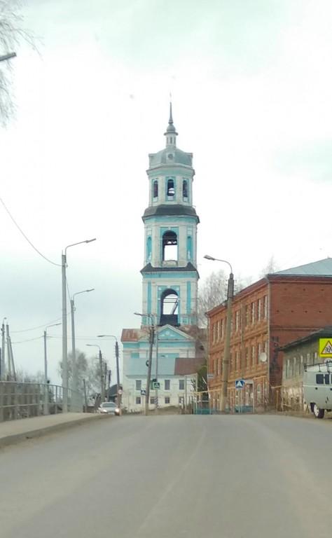 Кировская область, Сунский район, Суна. Церковь Вознесения Господня, фотография. фасады