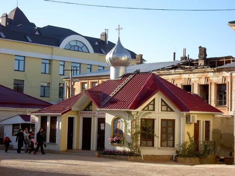 Республика Крым, Симферополь, город, Симферополь. Троицкий женский монастырь, фотография. фасады