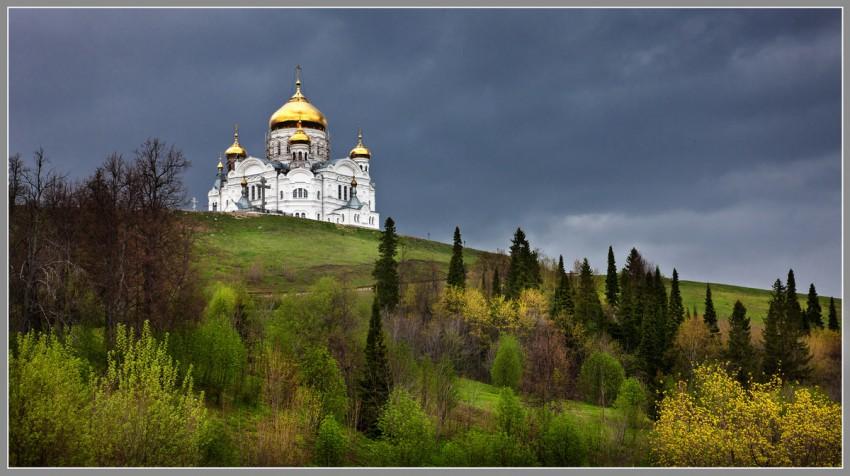 Николаевский Белогорский монастырь-Белая Гора-Кунгурский район и г. Кунгур-Пермский край