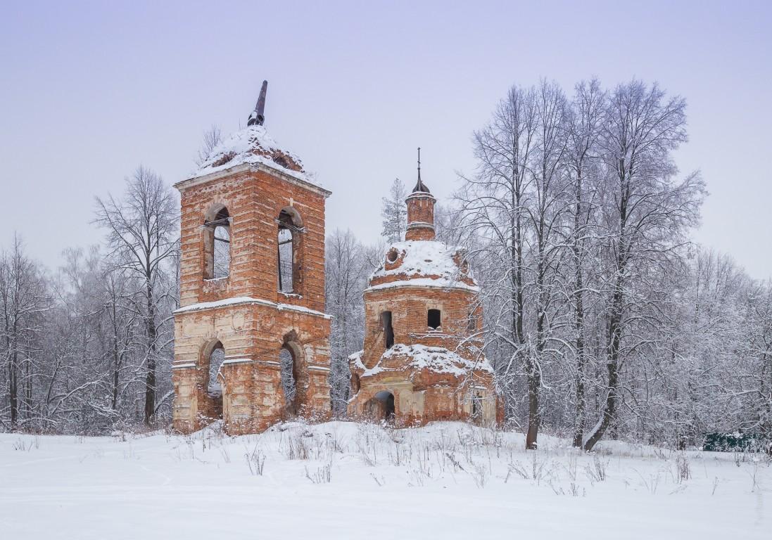 Московская область, Ступинский городской округ, Куртино. Церковь иконы Божией Матери