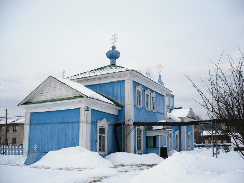 Пермский край, Пермский район, Юго-Камский. Церковь Всех Святых, фотография. фасады