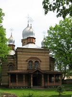 Екабпилсский Свято-Духов мужской монастырь. Церковь Сошествия Святого Духа - Екабпилс - Екабпилс, город - Латвия