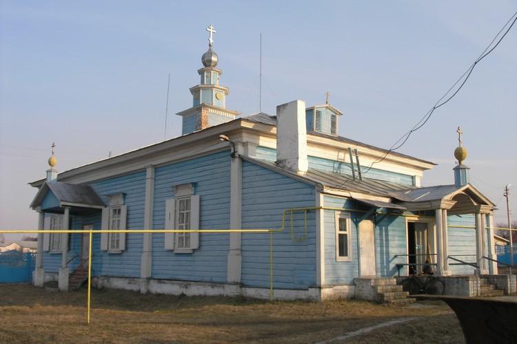 Церковь Димитрия Солунского, Климово