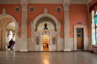 Часовня Николая Чудотворца на железнодорожном вокзале - Орёл - Орёл, город - Орловская область