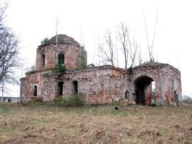 Церковь Казанской иконы Божией Матери, Малышково