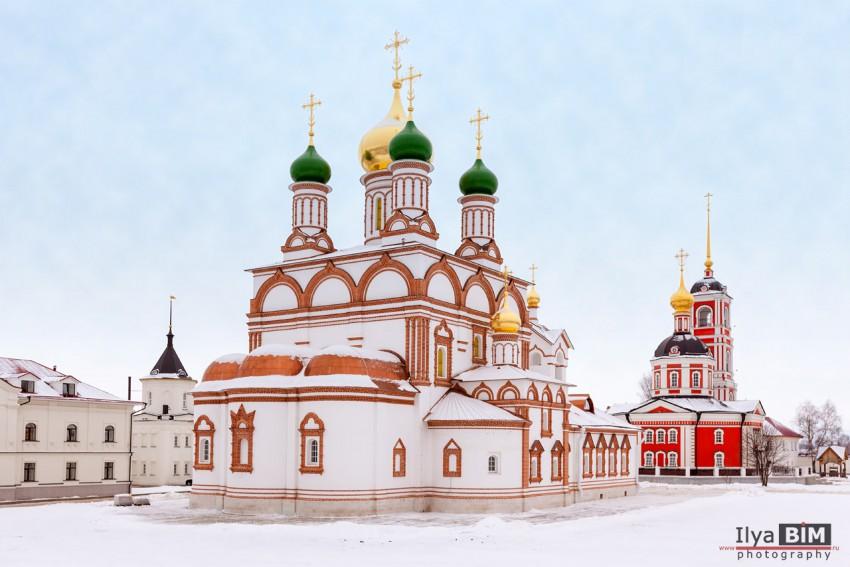 Троице-Варницкий монастырь. Собор Сергия Радонежского, Варницы