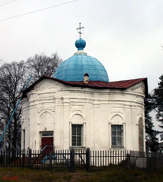 Церковь Иоанна Воина, Миголощи