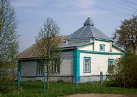 Церковь Николая Чудотворца - Мшага-Воскресенская - Шимский район - Новгородская область