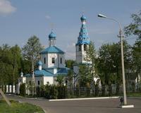 Якшино. Грузинской иконы Божией Матери, церковь