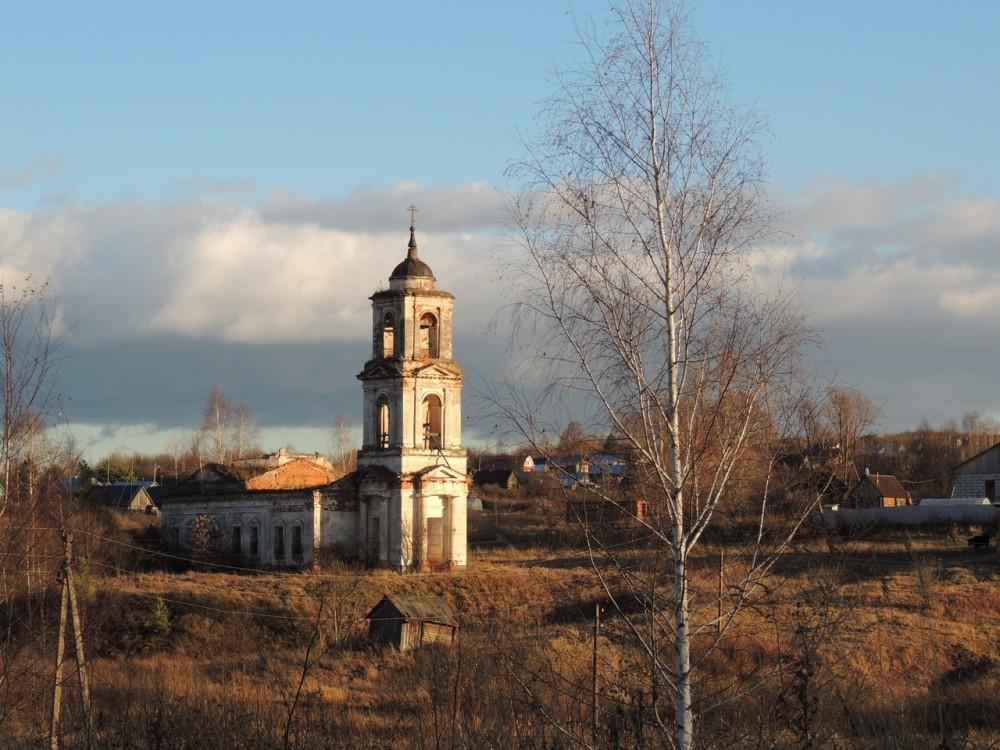 Церковь Троицы Живоначальной, Борисово Поле