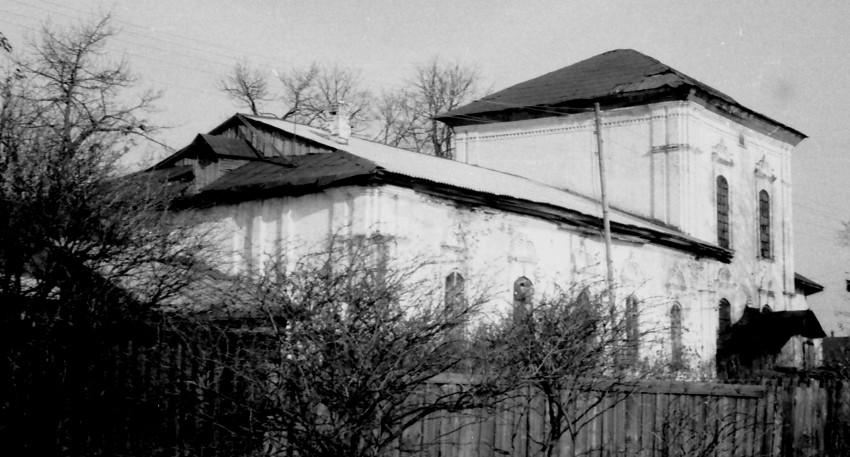 Вологодская область, Устюженский район, Устюжна. Церковь Сошествия Святого Духа, фотография. фасады