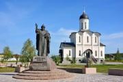 Дворцы. Владимирской Иконы Божией Матери и Сергия Радонежского, церковь