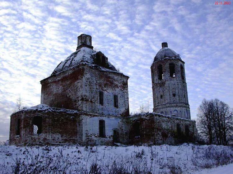 Церковь Покрова Пресвятой Богородицы, Соломидино