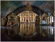 Ярославская область, Ярославль, город, Толга, ??еденский Толгский женский монастырь. Церковь Воздвижения Креста Господня