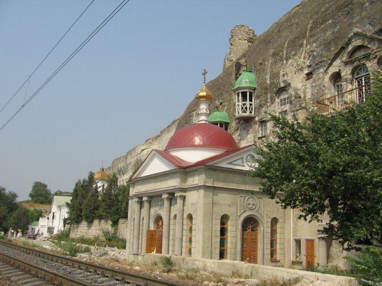 Инкерманский Климентовский мужской монастырь. Церковь Пантелеимона Целителя, Инкерман